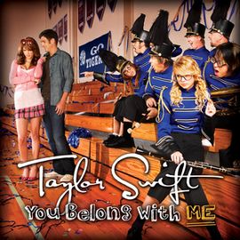 Обложка сингла Тейлор Свифт «You Belong With Me» (2009)