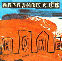 Обложка сингла «Home» (Depeche Mode, 1997)