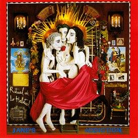Обложка альбома Jane's Addiction «Ritual de lo Habitual» (1990)