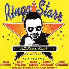 Обложка альбома Ринго Старра «Ringo Starr and His Third All-Starr Band-Volume 1» (1997)