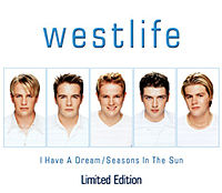 Обложка сингла «I Have a Dream/Seasons In The Sun» (Westlife, 1999)