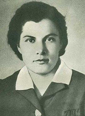 Анна Афанасьевна Морозова, 1944 год.