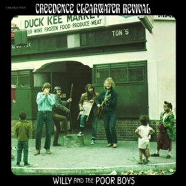 Обложка альбома Creedence Clearwater Revival «Willy and the Poor Boys» (1969)