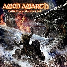 Обложка альбома Amon Amarth «Twilight of the Thunder God» (2008)