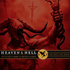 Обложка альбома Heaven & Hell «The Devil You Know» (2009)