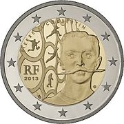 €2 commemorative coin France 2013 Coubertin.jpg