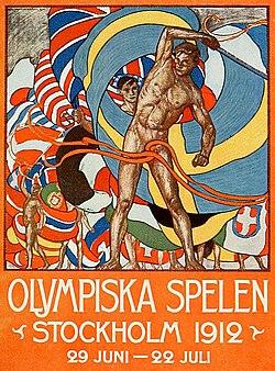 Картинки по запросу 1912 - Открылись V летние Олимпийские игры в Стокгольме (Швеция)..