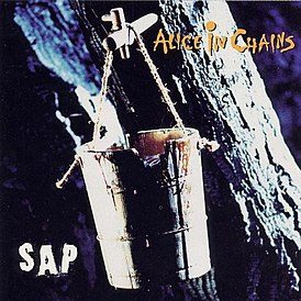 Обложка альбома Alice in Chains «Sap» (1992)