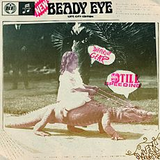 Обложка альбома Beady Eye «Different Gear, Still Speeding» (2011)
