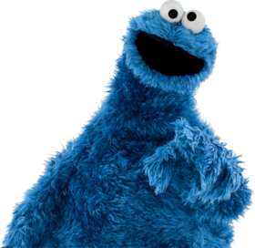 Cookie Monster Pointing Right Backat.png