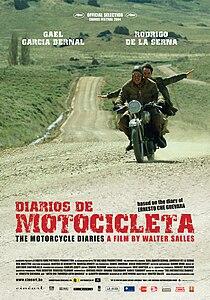 210px Diarios de motocicleta %28poster%29 Фильмы про байкеров и мотоциклы