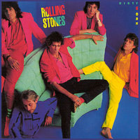 Обложка альбома The Rolling Stones «Dirty Work» (1986)