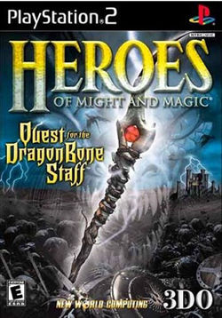 Обложка для Heroes of Might and Magic: Quest for the Dragon Bone Staff
