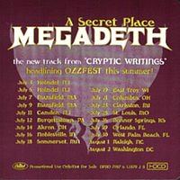 Обложка сингла «A Secret Place» (Megadeth, 1998)