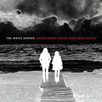 Обложка альбома The White Stripes «Under Great White Northern Lights» (2010)