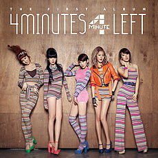 Обложка альбома 4Minute «4Minutes Left» (2011)