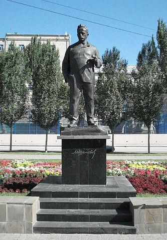 На набережной Ростова-на-Дону