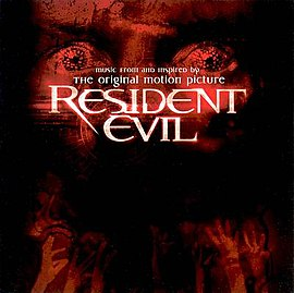 Обложка альбома различных исполнителей «Resident Evil: Music From and Inspired By the Motion Picture» (2002)