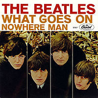 Обложка сингла «What Goes On» (The Beatles, {{{Год}}})