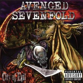 Обложка альбома Avenged Sevenfold «City of Evil» (2005)