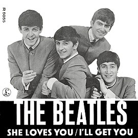Обложка сингла The Beatles «I'll Get You» (1963)