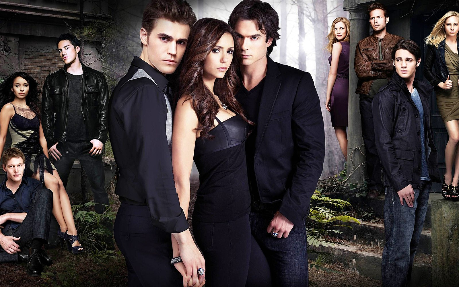 vampire diaries cast - HD1920×1200