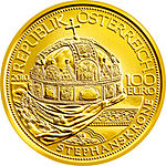 100 Euro - The Hungarian Crown of St. Stephen (2010) front.jpg