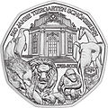 2002 Austria 5 Euro 250 Years Vienna Zoo back.jpg