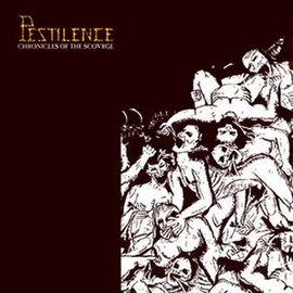 Обложка альбома Pestilence «Chronicles of the Scourge» (2006)