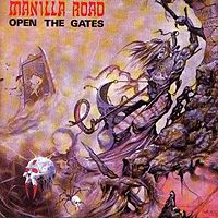 Обложка альбома Manilla Road «Open the Gates» (1985)