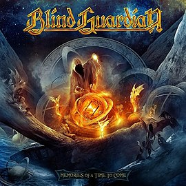 Обложка альбома Blind Guardian «Memories Of A Time To Come» (2012)