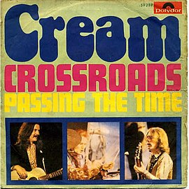 Обложка сингла Cream «Crossroads» (1969)