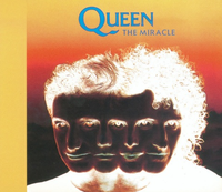Обложка сингла «The Miracle» (Queen, 1989)