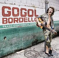 Обложка альбома Gogol Bordello «Trans-Continental Hustle» (2010)