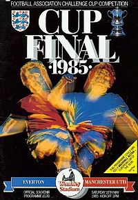 1985 FA Cup Final programme.jpg