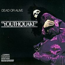 Обложка альбома Dead or Alive «Youthquake» (1985)