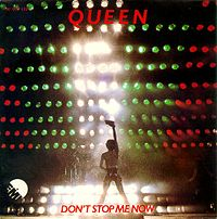 Обложка сингла «Don't Stop Me Now» (Queen, 1979)