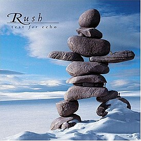 Обложка альбома Rush «Test for Echo» (1996)