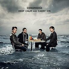 Обложка альбома Stereophonics «Keep Calm and Carry On» (2009)