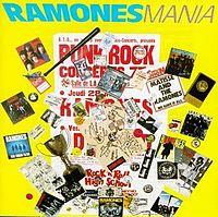 Обложка альбома ramones ramonesmania 1988