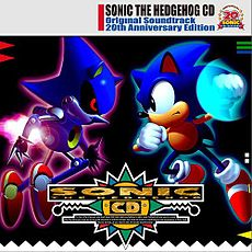 Обложка альбома  «Sonic the Hedgehog CD Original Soundtrack 20th Anniversary Edition» (2011)