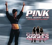 Обложка сингла «Feel Good Time» (Pink при участии Уильяма Орбита, 2003)