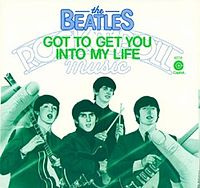 Обложка сингла «Got to Get You into My Life» (The Beatles, 1976)