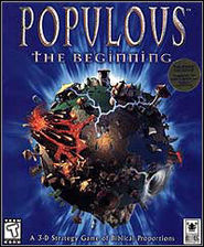 US cover art for Populous