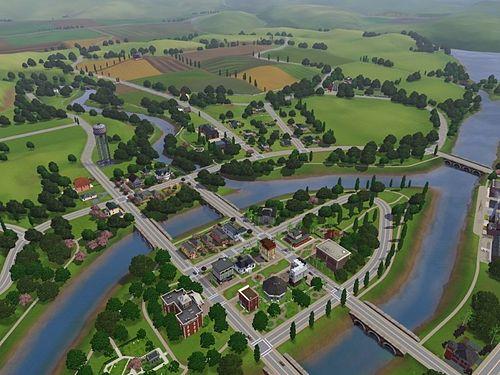 Sims 3 Риверсайд