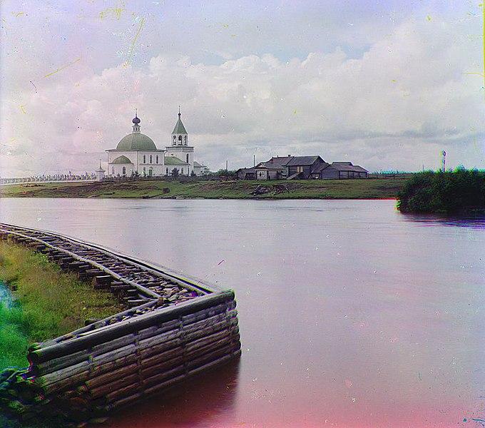 Файл:Село Ковжа на Шексне береговые укрепления 1909.jpg