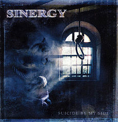 Обложка альбома Sinergy «Suicide by My Side» (2002)