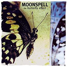 Обложка альбома Moonspell «The Butterfly Effect» (1999)