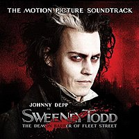 Обложка альбома  «Sweeney Todd: The Demon Barber of Fleet Street» ()