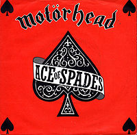 Обложка сингла «Ace of Spades» (Motörhead, 1980)